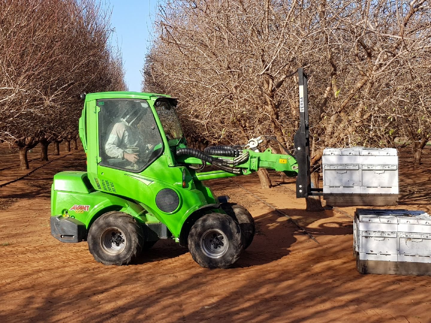 Almond Pollination Seasons is here! Let Avant do the heavy lifting for you